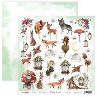 ScrapBoys - Fairy Land - 12x12 double-sided Patterned Paper (FALA-07)