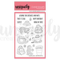 Uniquely Creative - Clear Stamp - Sloth Pals (UC1755)