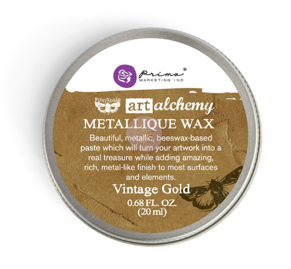 Prima - Wax - Art Alchemy - Metallique - Vintage Gold (963958)