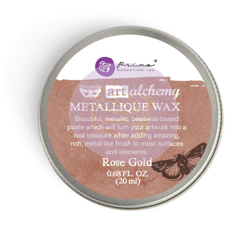 Prima - Wax -Art Alchemy-Metallique Wax- Rose Gold (963972)