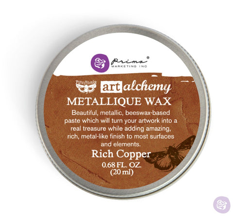 Prima - Wax - Art Alchemy - Metallique - Rich Copper (963989)