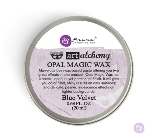 Prima - Wax -Art Alchemy- Opal Magic- Blue Velvet (964269)