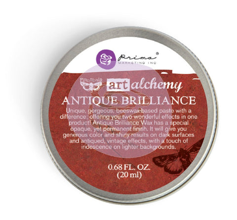 Prima Wax - Art Alchemy- Antique Brilliance- Fire Ruby (964306)