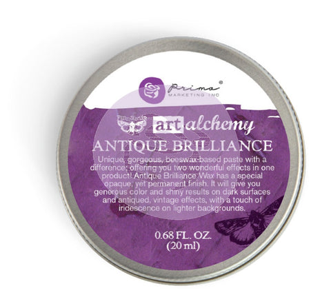 Prima Wax - Art Alchemy- Antique Brilliance- Amethyst Magic (964320)