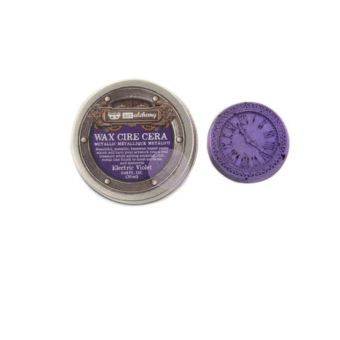 Prima - Wax - Art Alchemy - Metallique-  Electric Violet (966713)