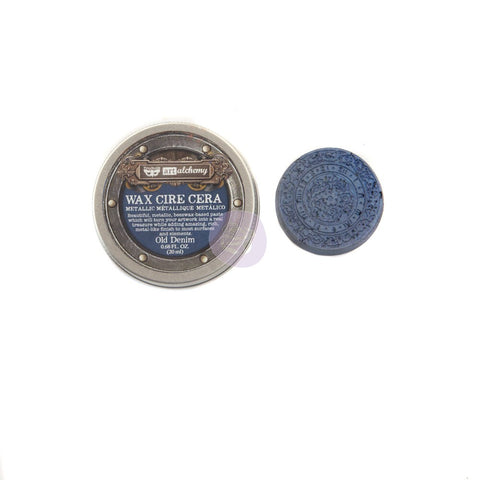 Prima - Wax - Art Alchemy - Metallique - Old Denim (966768)