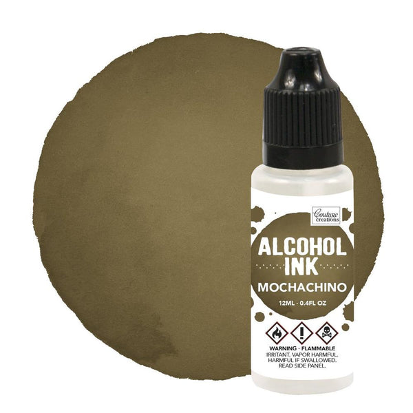 Couture Creations 12ml Espresso/Mochachino Alcohol Ink CO727310