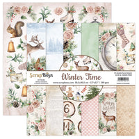 ScrapBoys - Winter Time - 12 x 12 Paper Pack (Witi-08 )
