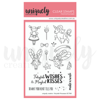 Uniquely Creative - Clear Stamp - Fairytale Princesses (UC1760)