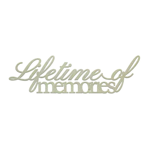 Couture Creations - Lifetime of Memories Chipboard (1 piece) (CO725863)
