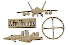 Scrap FX - Air Force Embellishments (2014087)