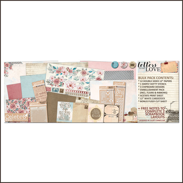 Celebr8 Bulk Pack - Letters to My Love BP6047