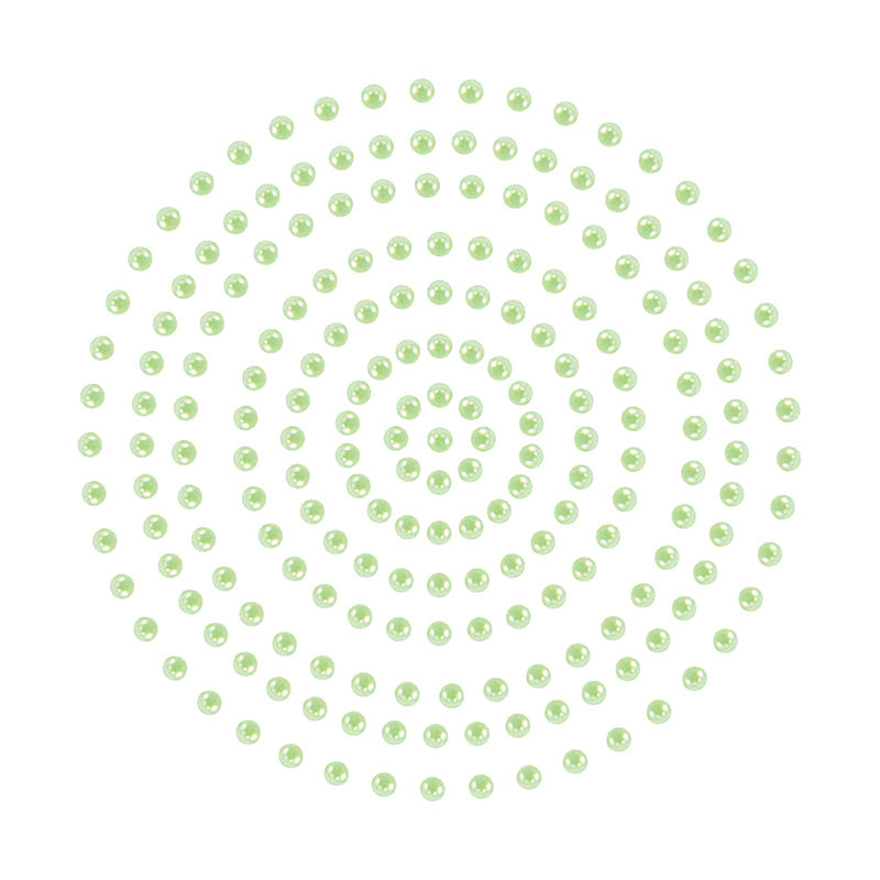 Adhesive Pearls - Couture Creations - Soft Green (CO725382)