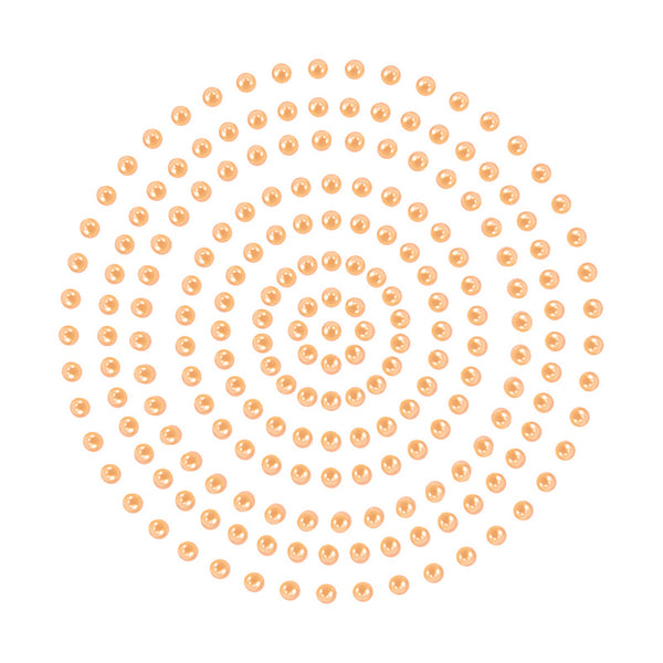 Adhesive Pearls - Couture Creations - Soft Peach (CO725383)
