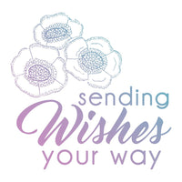 Couture Creations - Mini Stamp - Le Petit Jardin - Sending Wishes (CO725439)