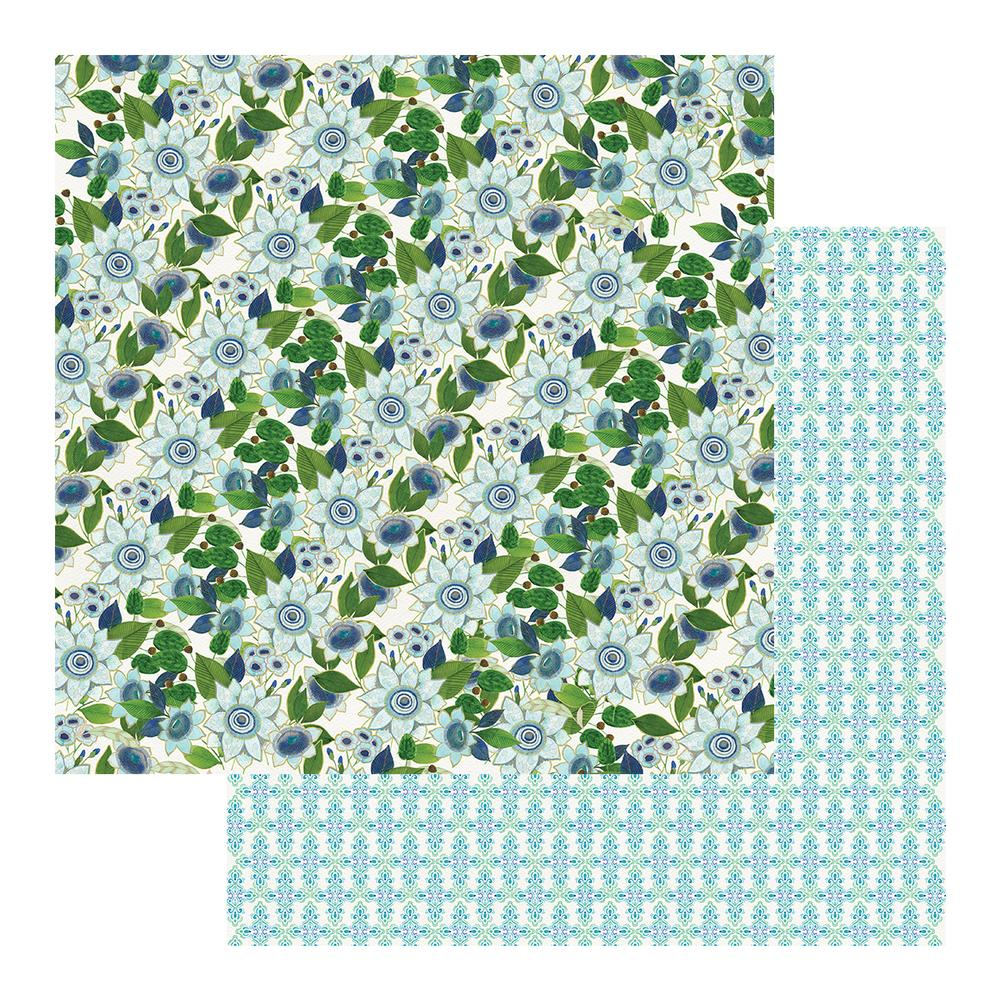"Couture Creations - 12""x 12"" Scrapbook Paper - Le Petit Jardin - Sheet 03 (CO725448)"