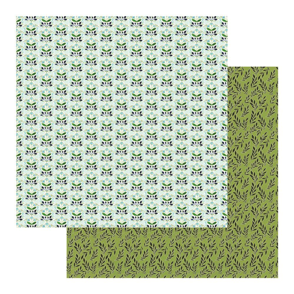 "Couture Creations - 12""x 12"" Scrapbook Paper - Le Petit Jardin - Sheet 10 (CO725457)"