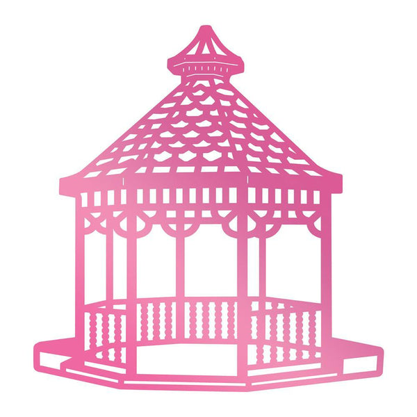 Couture Creations - Hot Foil Stamp - Gazebo - Cést La Vie (CO725744)