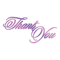 Couture Creations - Thank You -  Hot Foil Stamp (CO725822)