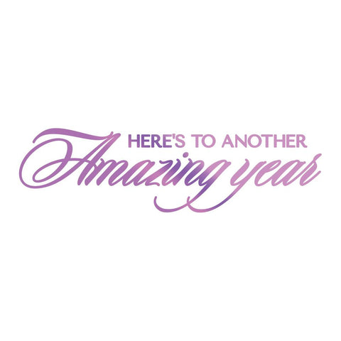 Couture Creations - Amazing Year -  Hot Foil Stamp (CO725833)