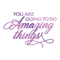 Couture Creations - Amazing Things -  Hot Foil Stamp (CO725837)