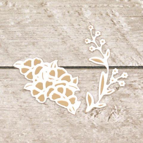 Couture Creations - Lavish Ballroom - Cut & Foil Die - Botanical Set (CO725906)