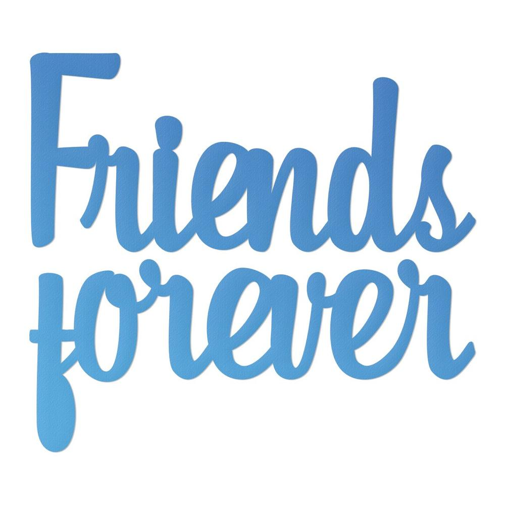 Couture Creations - Mini Die - Friends Forever (Co726082)