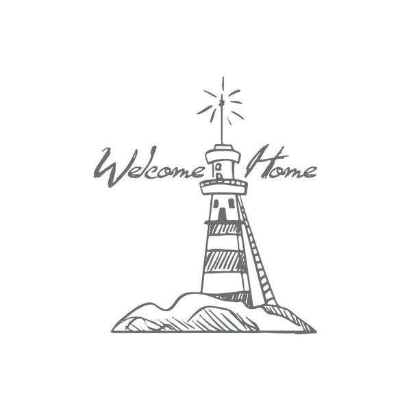 Couture Creations - Seaside & Me - Mini Stamp Welcome Lighthouse (CO726159)
