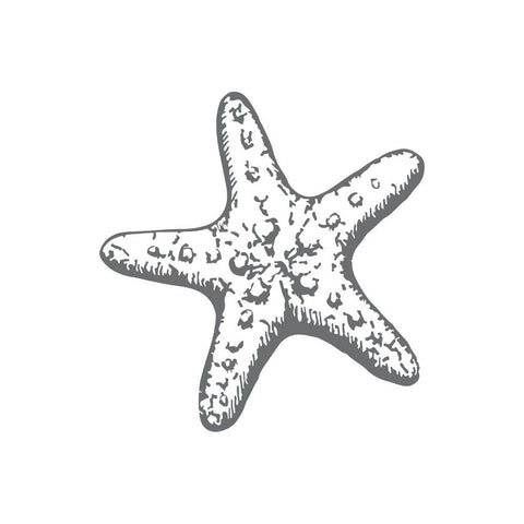 Couture Creations - Seaside & Me - Mini Stamp Starfish (CO726163)