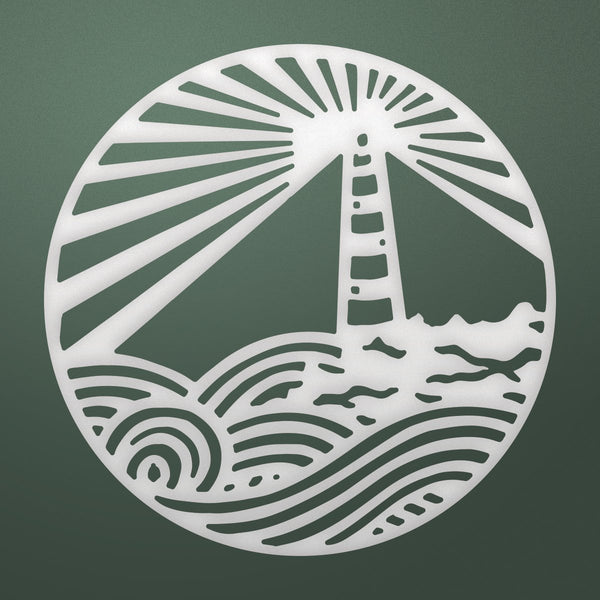 Couture Creations - Seaside & Me - Cutting Die - Lighthouse Medallion (CO726168)