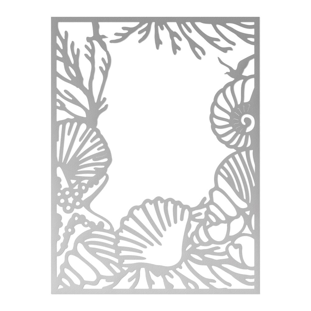 Couture Creations - Seaside & Me - Background Cutting Die - Beachside (CO726175)
