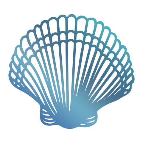 Couture Creations - Seaside & Me - Hotfoil Stamp Seashell (CO726176)