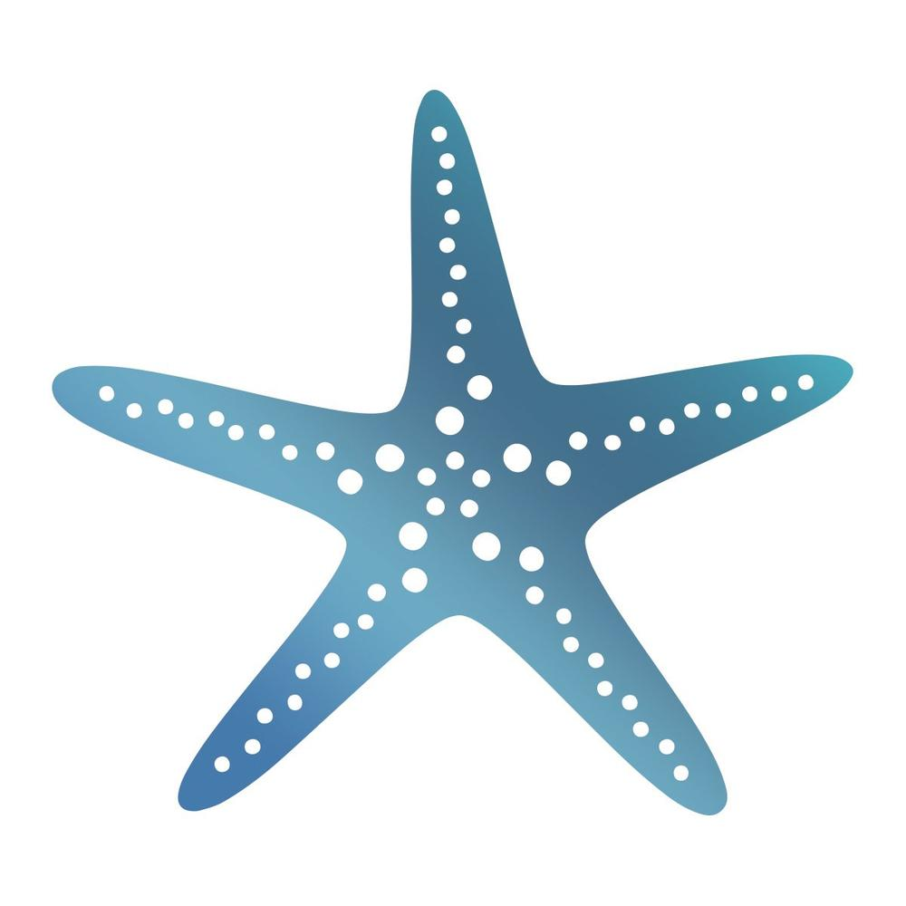 Couture Creations - Seaside & Me - Hotfoil Stamp Starfish (CO7261785)