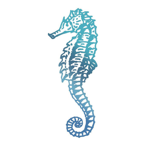 Couture Creations - Seaside & Me - Hotfoil Stamp Seahorse (CO726180)