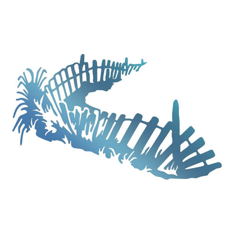 Couture Creations - Seaside & Me - Hotfoil Stamp Boundary (CO726183)