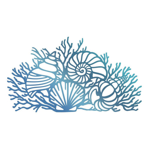 Couture Creations - Seaside & Me - Hotfoil Stamp By the Shore (CO726184)