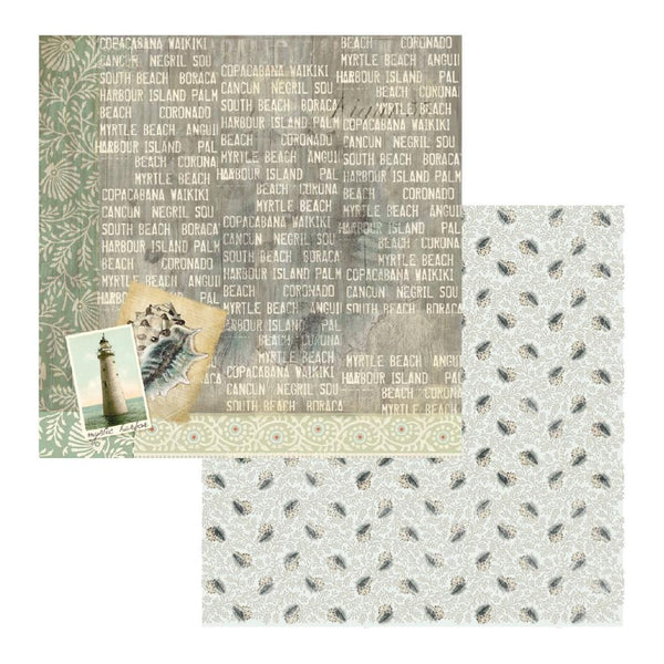 Couture Creations - Seaside & Me - Pattern Paper 04 (CO726197)