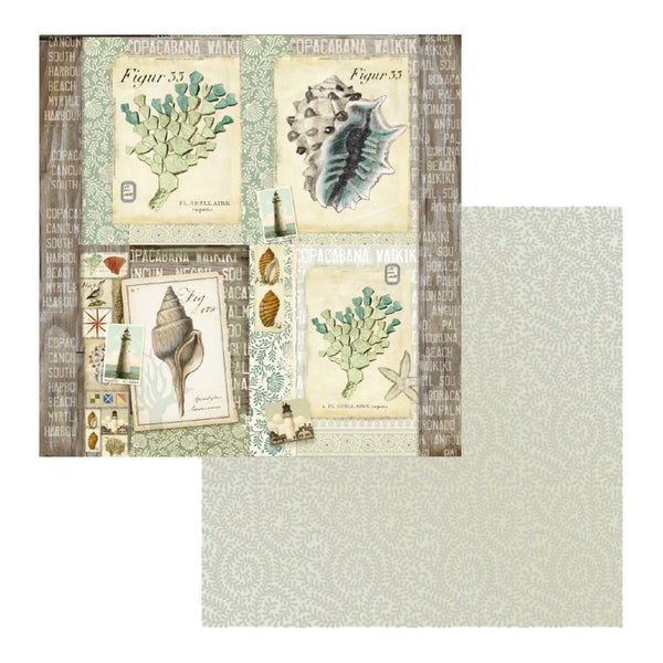 Couture Creations - Seaside & Me - Pattern Paper 08 (CO726201)