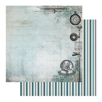 "Gentleman's Emporium - Patterned Paper - 12 x 12"" Sheet 1 (CO726814)"