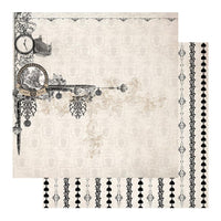"Gentleman's Emporium - Patterned Paper - 12 x 12"" Sheet 2 (CO726815)"