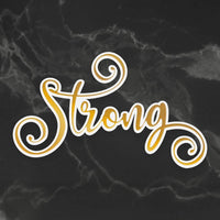 Couture Creations- Delightful Sentiments -Cut, Foil, Emboss - Strong ( CO726941 )