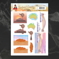 Couture Creations - Sunburnt Country - A4 Decoupage - Wonders (CO727190)