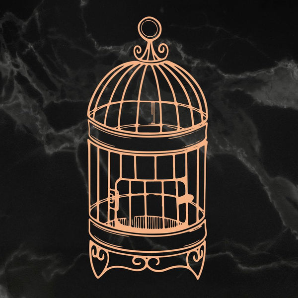 Couture Creations - My Secret Love - Mini Stamp - Small Birdcage (Co727617)