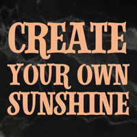 Couture Creations - My Secret Love - Mini Stamp - Create Your Sunshine (Co727622)