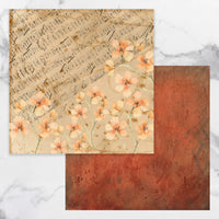 Couture Creations - Steampunk Dreams Collection - 12 x 12 Pattern Paper - Sheet 1 (CO727707)