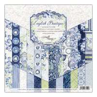 "Craft Easy - English Boutique - 12 x 12""Paper Pad (Cr000001)"