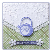 Craft Easy - English Boutique - Stamp & Die Set Tea Time (Cr000003)