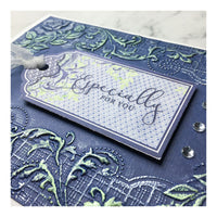 "Craft Easy - English Boutique - 5 x 7 "" Embossing Folder  - Ornate Floral (Cr000007)"