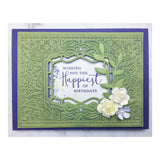 "Craft Easy - English Boutique - 4.25 x 5.5"" Cut & Embossing Folder  - Floral Party (Cr0000012)"
