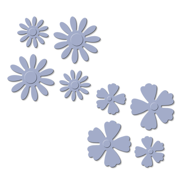 Craft Easy - English Boutique - Cutting Die - Flower Set (Cr0000017)